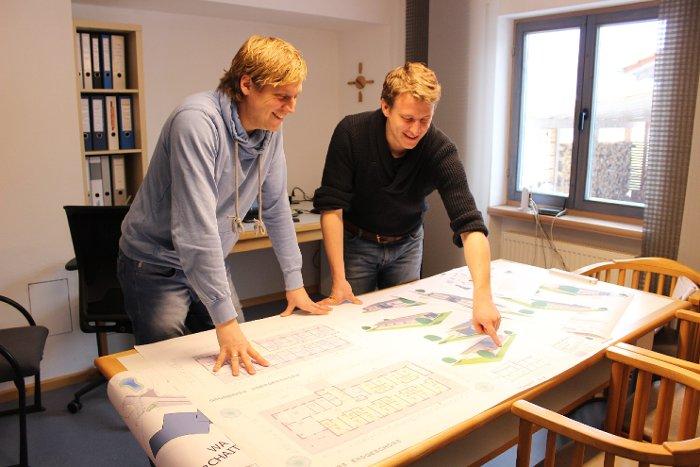 Foto Hannes und Martin
