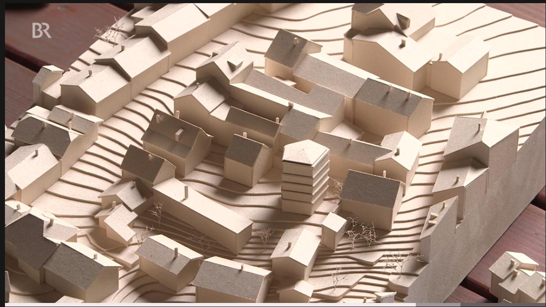 Modellvarianten des Architekten Max Zitzelsberger