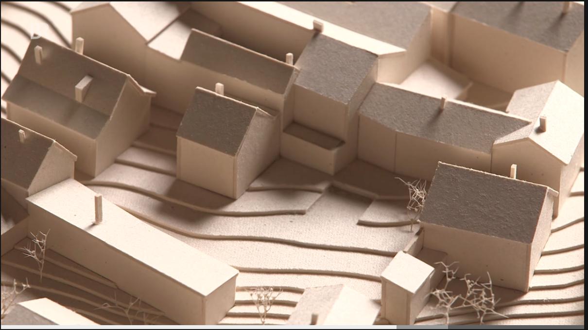 Modell Architekt Max Zitzelsberger